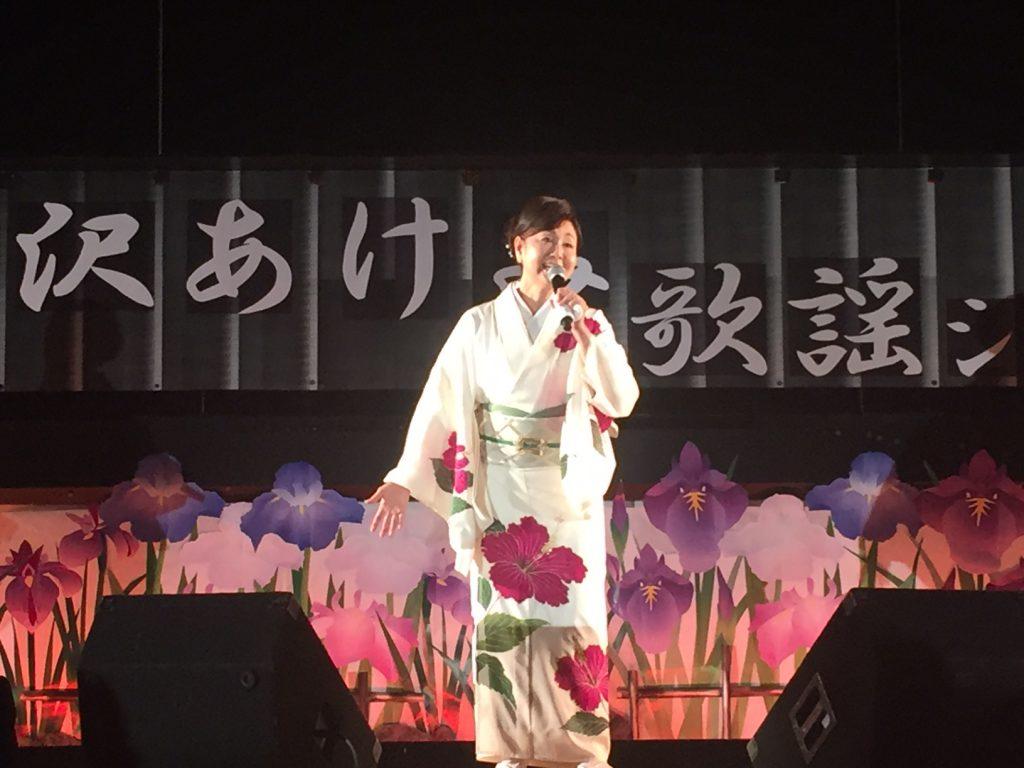 三沢あけみさん歌謡ショー1