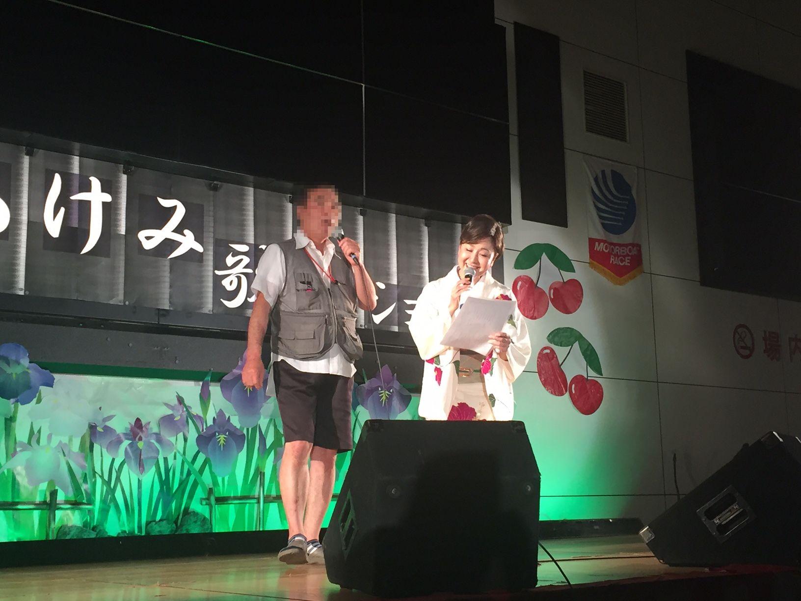 三沢あけみさん歌謡ショー3